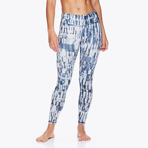 gaiam disrupted leggings women's front