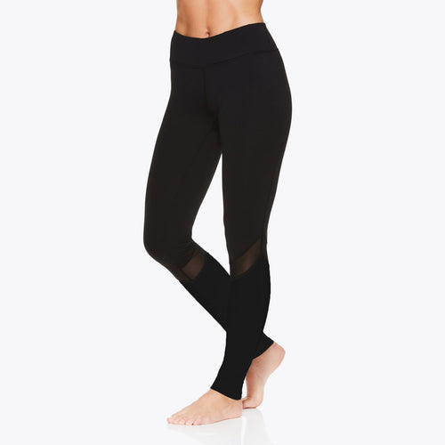 OM Mesh Legging Women's gaiam running black
