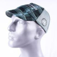 Load image into Gallery viewer, gray plaid carson footwear performance running hat