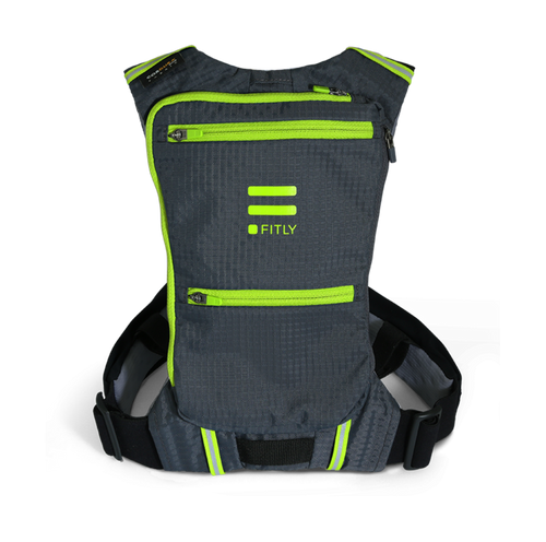 fitly innovative running backpack mojito green