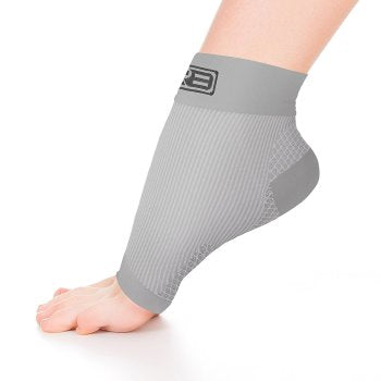 8f7a8bdf40 ... Load image into Gallery viewer, go2 ankle compression sleeve gray ...