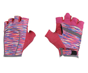runlites led running light half glove pink flecks
