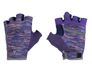 runlites led running light half glove purple flecks