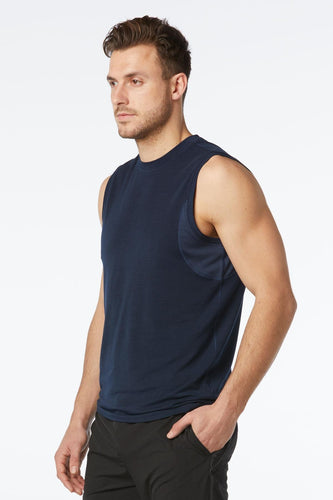 mpg solar men's running tank