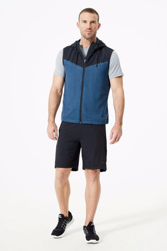 mpg circuit transition vest men's blue black