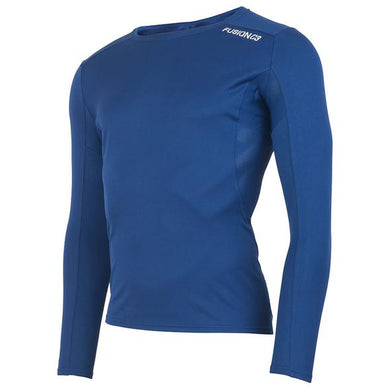 fusion men's running c3 long sleeve shirt midnight