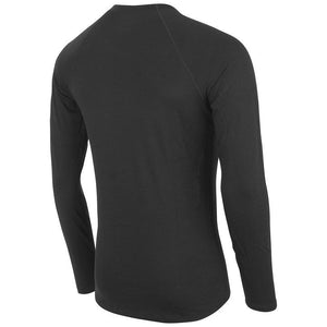 fusion men's c3 merino performance running shirt black back