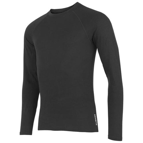 fusion men's c3 merino performance running shirt black