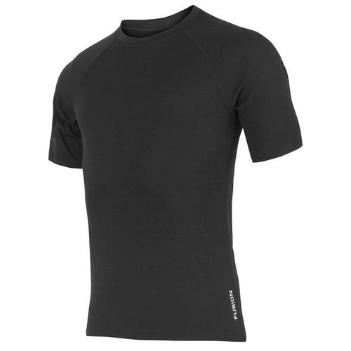 FUSION c3 merino men's running shirt black