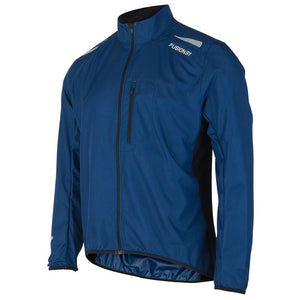 fusion men's s1 performance running jacket night front