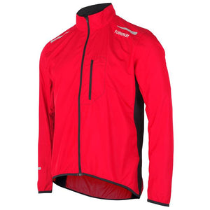 fusion men's s1 performance running jacket red front