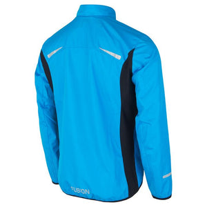 fusion men's s1 performance running jacket surf back