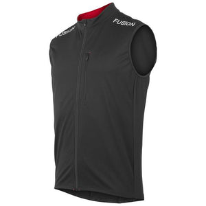 fusion men's s2 performance running vest black front