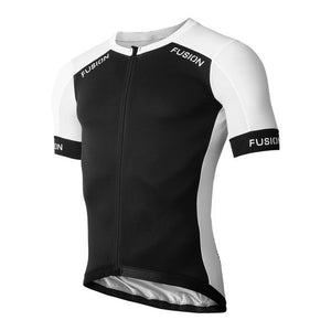 fusion sli hot cycling jersey front