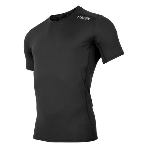women's fusion sli short sleeve black