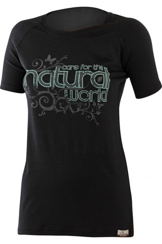 lasting natural merino 160 performance running short sleeve women's
