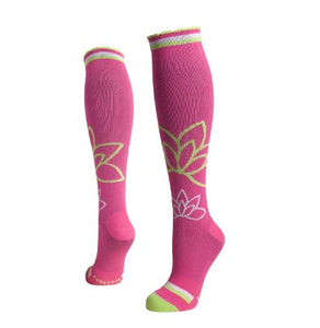 lily trotters compression socks om pink