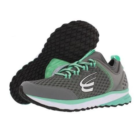 spira phoenix women's running shoe charcoal mint white