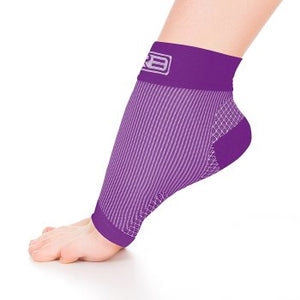 go2 ankle compression sleeve purple