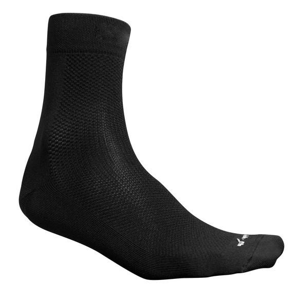 fusion performance running racing sock unisex black