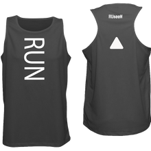 Load image into Gallery viewer, ruseen running mens running tank black