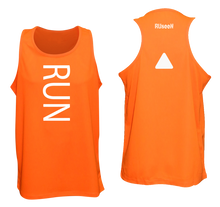 Load image into Gallery viewer, ruseen running unusual mens running tank orange
