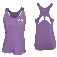 Load image into Gallery viewer, ruseen running Womens wings reflective performance tee purple