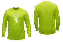 Load image into Gallery viewer, mens long sleeve unique reflective shirt lime green
