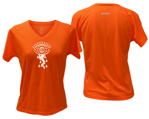 orange moisture wicking shirt