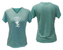 Load image into Gallery viewer, stylish running shirt with reflective logo