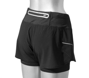 2-in-1 Reflective Shorts Women's