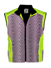 Load image into Gallery viewer, ruseen high visibility running vest lime yellow