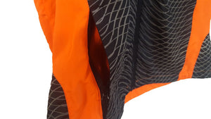 ruseen running reflective tech vest pocket closeup side