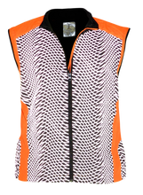 Load image into Gallery viewer, ruseen reflective tech vest orange running