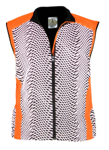 ruseen reflective tech vest orange running