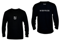 Load image into Gallery viewer, ruseen 13.1 half crazy performance long sleeve black