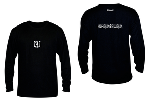 ruseen 13.1 half crazy performance long sleeve black