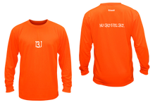 Load image into Gallery viewer, ruseen 13.1 half crazy performance long sleeve orange