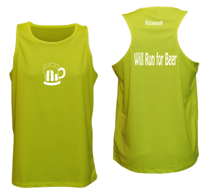 ruseen running performance reflective running tank
