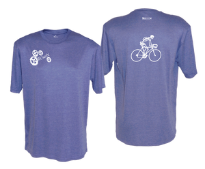 ruseen running bike skeleton mens performance tee royal heather