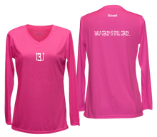 Load image into Gallery viewer, ruseen 13.1 half crazy women's long sleeve pink