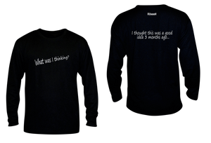 ruseen running unique mens long sleeve reflective tee good idea black