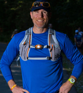 male runner with gomotion reactor2 light