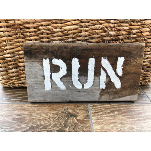 Run Driftwood wall art