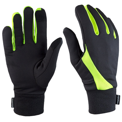 trailheads elements running glove men's high visibility
