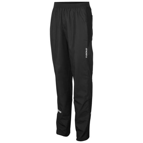 fusion s1 run pants unisex running black front