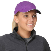 Load image into Gallery viewer, trailheads race day running cap women's purple