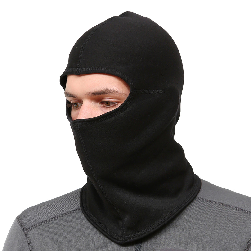 trailheads unisex running balaclava full face coverage black