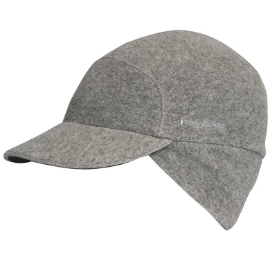 trailheads trailblazer adventure pony cap women's heather grey front