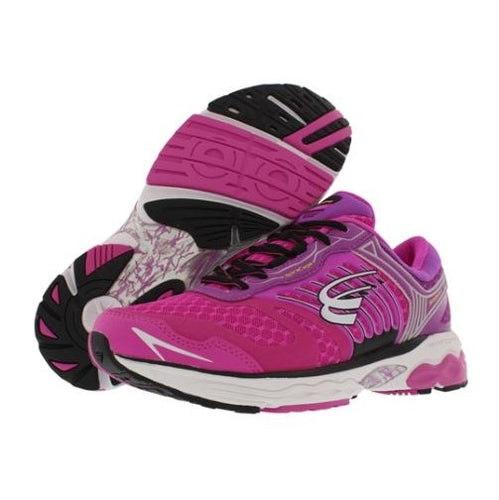 spira scorpius ii women's running shoe fushcia / purple / white